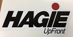 Decal Hagie UpFront