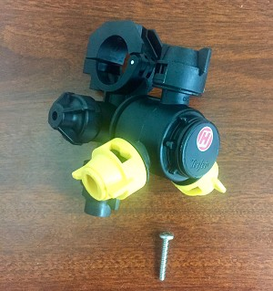 3 Tip Nozzle Body for 1 Inch Wet Boom - 5HG737921