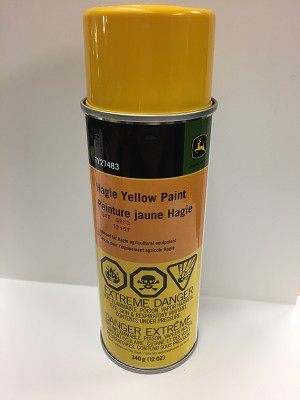 Hagie Yellow Paint, Spray Can - TY27483